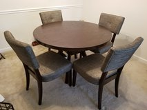 Dining table set in Fort Benning, Georgia