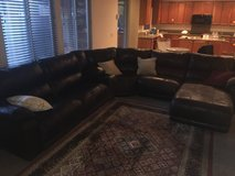 large leather sectional sofa in Las Vegas, Nevada