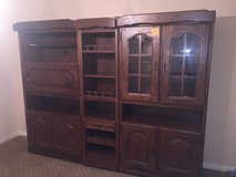 large three piece german cabinet in Nellis AFB, Nevada