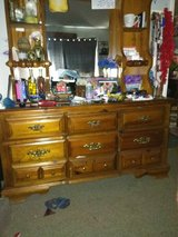 3 piece mathing dressermirrir chest of drawers set in Fort Rucker, Alabama
