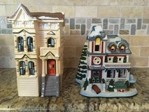 Department 56- White apt. and snow house in Great Lakes, Illinois