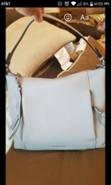 Michael Kors purse and wallet Grey in Conroe, Texas