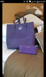 Michael Kors tote purse and wallet in The Woodlands, Texas