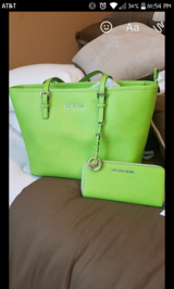 Michael Kors Green in Spring, Texas