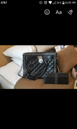 Michael Kors black purse and wallet in Conroe, Texas