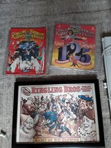 Ringling Brothers  framed poster and 2 programs in Palatine, Illinois