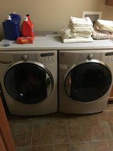 Front loader washer and dryer in Sandwich, Illinois