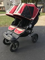 Baby Jogger City Elite Double Red Sport in Naperville, Illinois