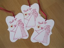 New Wedding Thank You Gift Tags Handmade 12 Available in Ramstein, Germany