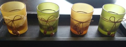 VOTIVE CANDLE HOLDERS W/TRAY in Yorkville, Illinois