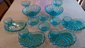 16 pc Vintage aqua blue set in Warner Robins, Georgia