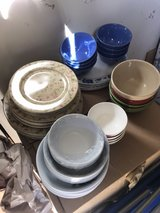 bowls and plates in Fort Polk, Louisiana