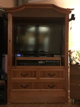 TV Armoire in Solid wood in Schofield Barracks, Hawaii