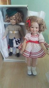 Shirley Temple dolls in Fort Riley, Kansas