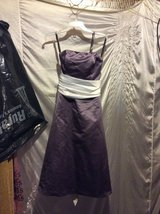 Women's purple with white dress in Fort Campbell, Kentucky