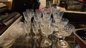 Various sizes gobblets, shot glasses, drinking glasses in Fort Knox, Kentucky