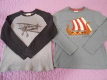 Two boys Hanna Andersson Long Sleeved Shirts EU size 140, US size 10 in Fort Lewis, Washington
