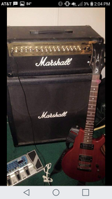 Marshall 4x12 half stack with amp excellent shape in Fort Polk, Louisiana