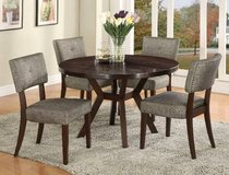 "BRAND NEW! URBAN QUALITY 48"" ROUND DINING SET! in Camp Pendleton, California"