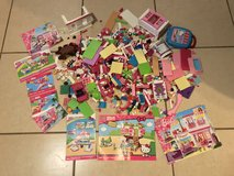 Large Lot of Girl Mega Bloks Hello Kitty & Barbie in Travis AFB, California