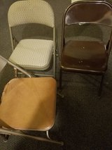 FOLDING CHAIRS, NOT GREAT in Chicago, Illinois