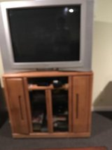 TV AND CABINET in St. Charles, Illinois