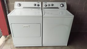 Whirlpool washer and dryer set in Lackland AFB, Texas