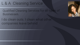 L & A Cleaning Services in Camp Lejeune, North Carolina