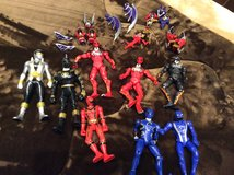 Power ranger figures and armor in Okinawa, Japan