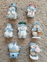 7 Christmas Figurines - NEW in Camp Lejeune, North Carolina