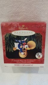 Hallmark Ornament - 1999 Disney - Donald Plays the Cymbals in Westmont, Illinois