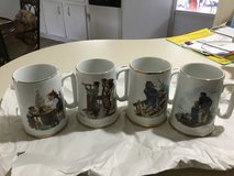 Norman Rockwell cups in Cleveland, Texas