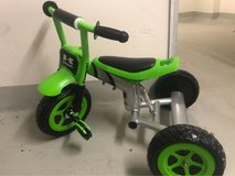 used Kawasaki Tricycle Children Bicycle Training Wheels Toddler Ride in Stuttgart, GE