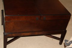 Pier One 3pc wood set coffee and two side tables in Fort Rucker, Alabama