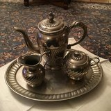 Antique French Silver Plate Tea Set in Ramstein, Germany