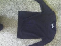 Women's or ladies size small black sweatshirt in Naperville, Illinois