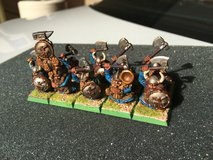 Warhammer Fantasy Dwarf Warrior unit in Camp Pendleton, California