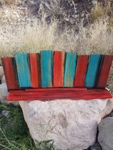 Rustic Bohemian Wall Shelve(Handcrafted) in Alamogordo, New Mexico