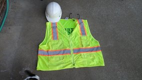 Safety vest, hard hat,  safety glasses. in Fort Campbell, Kentucky