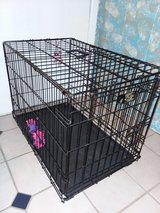 Dog crate in Perry, Georgia