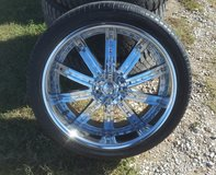 "24"" rims in Lawton, Oklahoma"