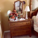 DRESSER W/MIRROR .....ANTIQUE in Chicago, Illinois