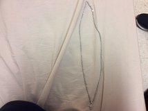 White gold rope chain with cross pendant for sale in Colorado Springs, Colorado