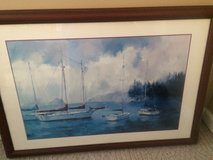 Sailboat Framed Picture in Fort Campbell, Kentucky