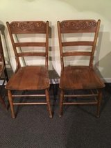 3 ANTIQUE CHAIRS AVAILABLE in Aurora, Illinois