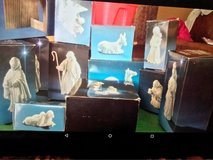 Nativity scene set in Fairfield, California
