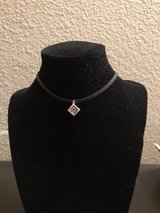pink cz charm choker necklace in Travis AFB, California