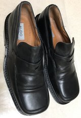 Men's Black Leather Shoes in Okinawa, Japan
