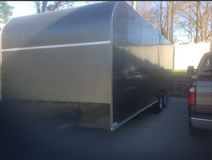 Enclosed trailer in Fort Campbell, Kentucky