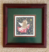 BEAUTIFUL CHRISTMAS ANGEL & SNOWMAN PICTURES $20 EA. in Tinley Park, Illinois